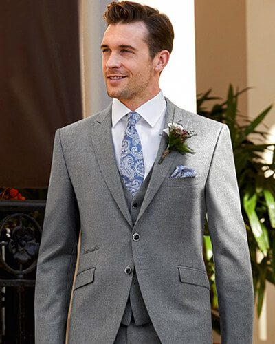 Impeccable Formal Wear Scott grey