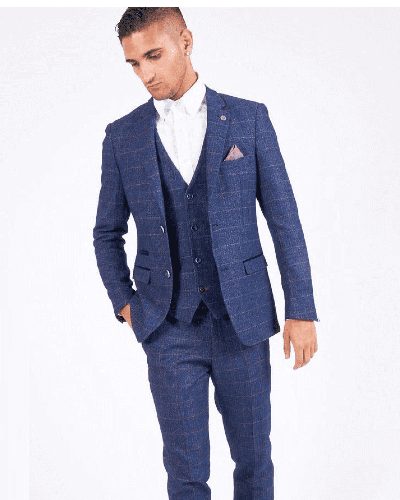 Impeccable Wear Marc Darcy Harry Indigo