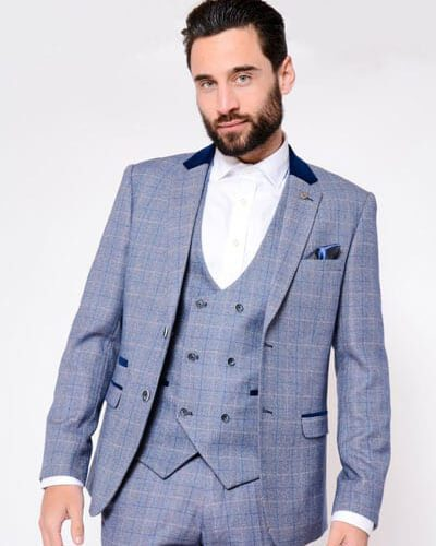 Impeccable Wear Marc Darcy Hilton Blue
