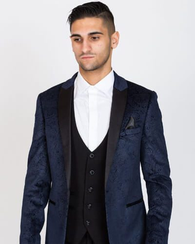 Impeccable Wear Marc Darcy Simon Navy