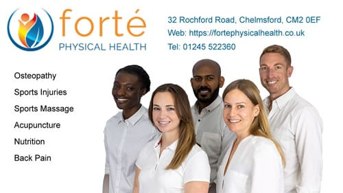 Forté Physical Health - Chelmsford Osteopath