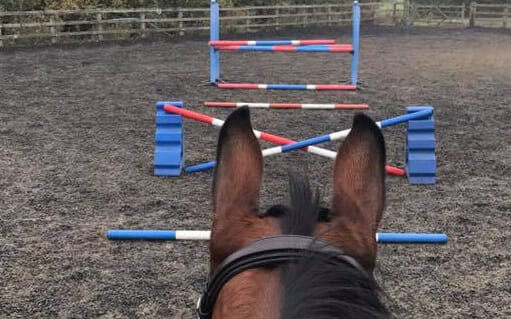 Floodlit all - weather menage1 | wood farm livery facilities | wood farm livery